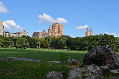 Gorgeous day to hang out in Central Park