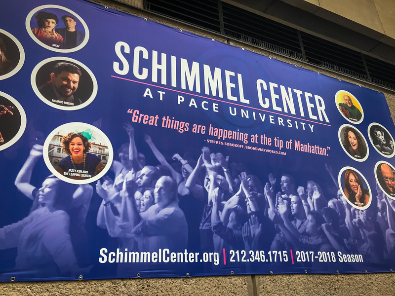 schimmel center new york city