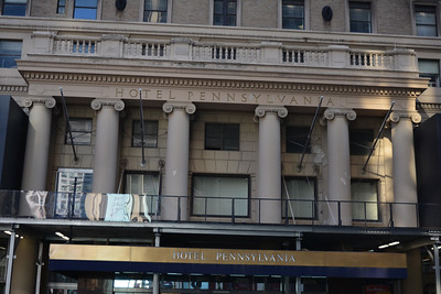 Hotel Pennsylvania in New York City