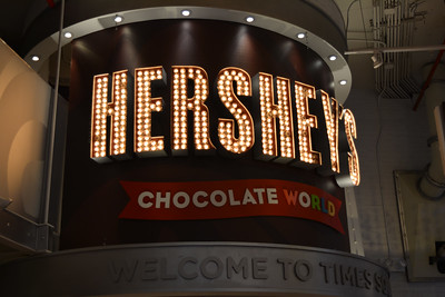 Inside Hershey's Chocolate World on Times Square