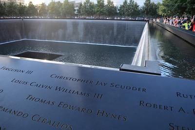 9/11 Memorial Reflecting Pool 2