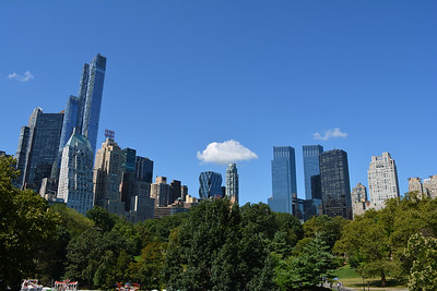 Overlooking New York City Skyline from Central Park 3