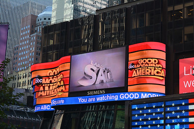 Home of Good Morning America in Times Square