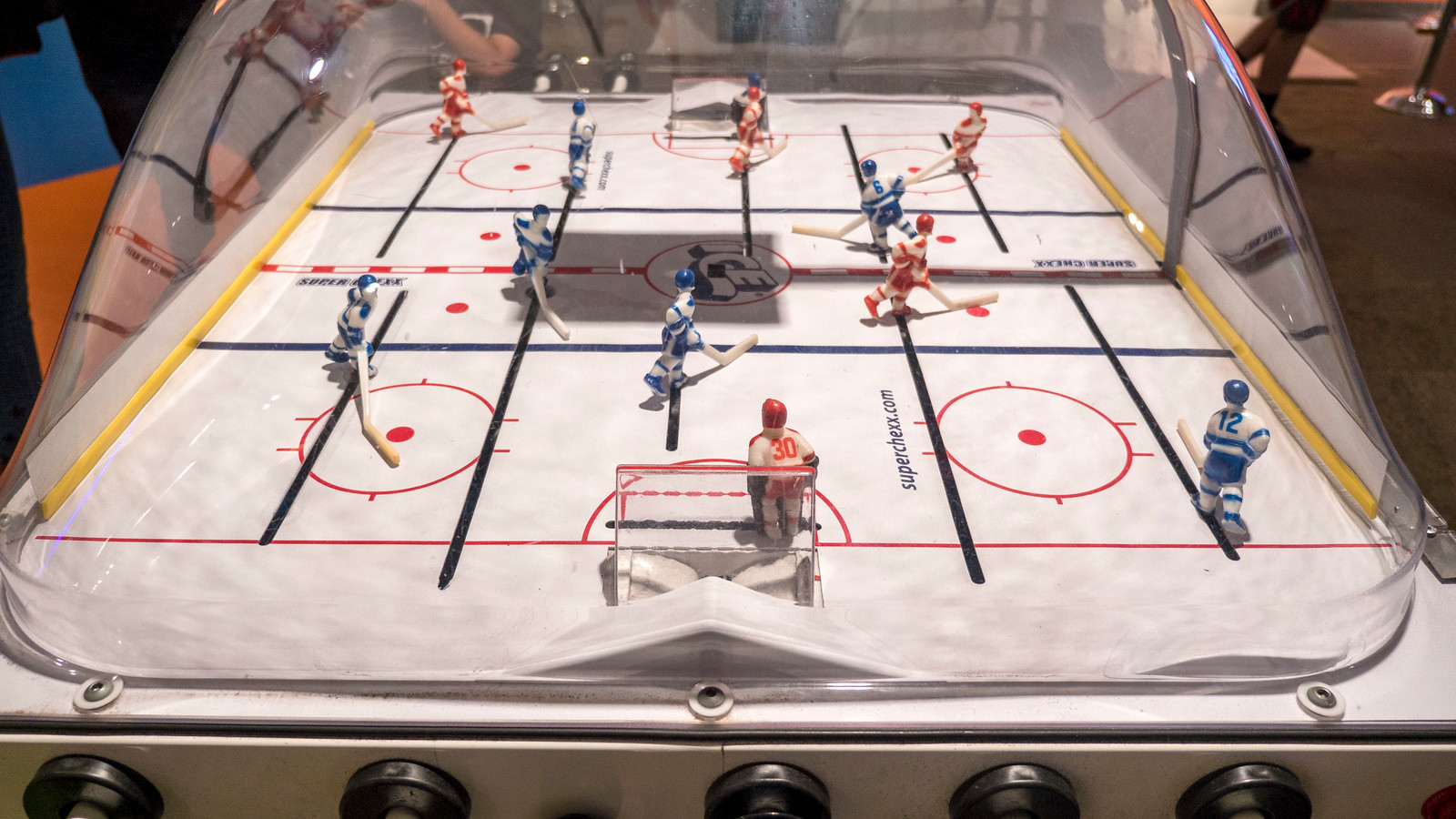 Bubble Hockey at the Strong Museum of Play in Rochester