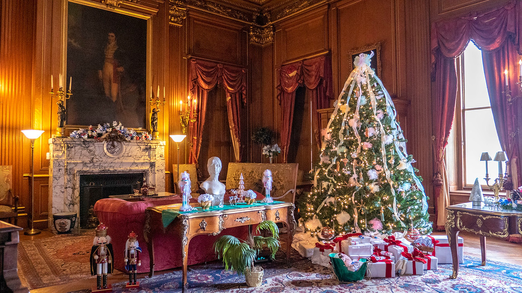 Mills Mansion Hyde Park - Christmas decorations