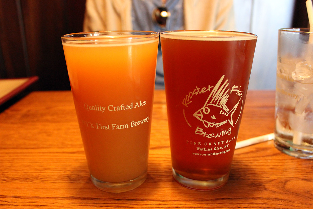 Rooster Fish Brewing - Finger Lakes breweries