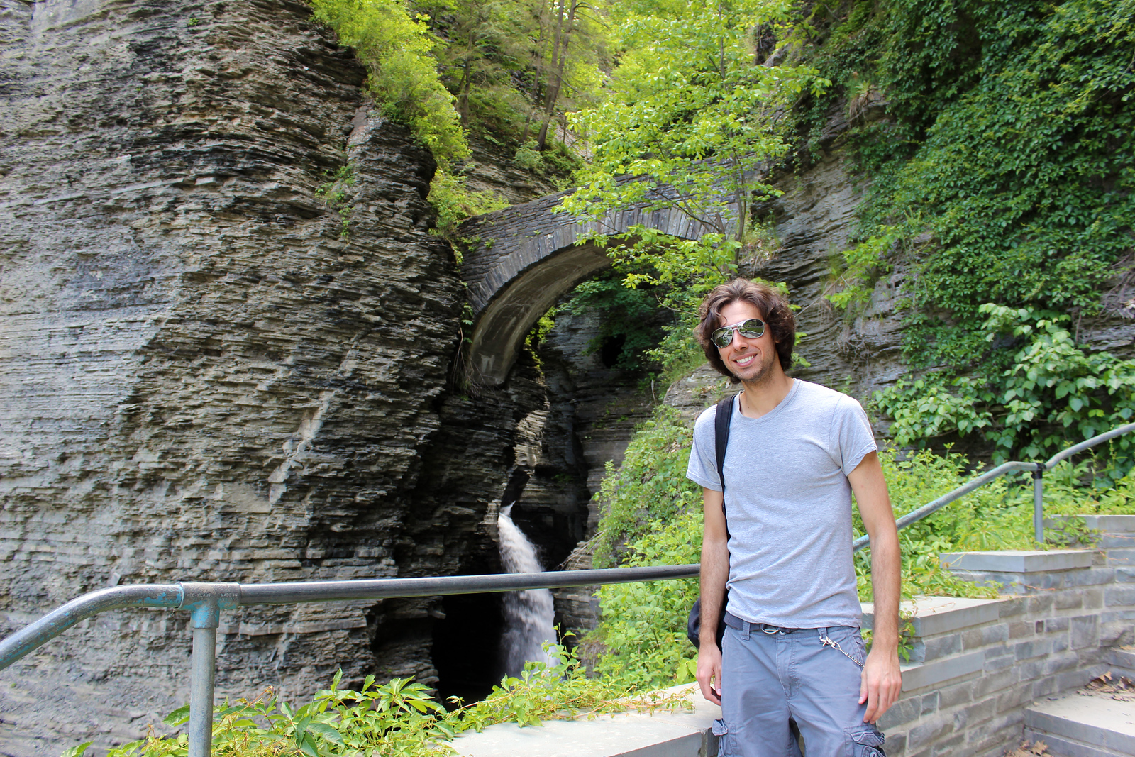Watkins Glen State Park Gorge - Hiking in Watkins Glen NY