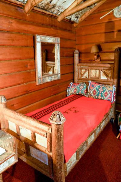 Birchbark Bed, Camp Pine Knot