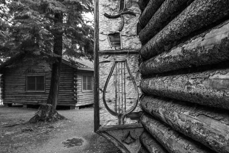 Birchbark Detail, Camp Pine Knot, Raquette Lake