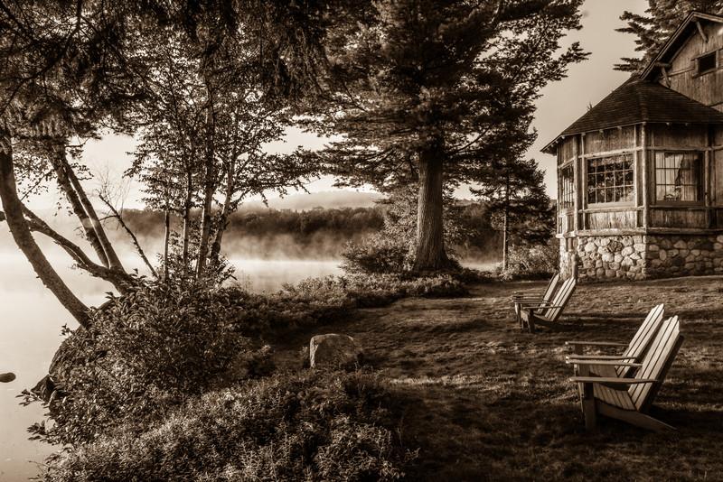 Peaceful Morning, Sagamore Lake