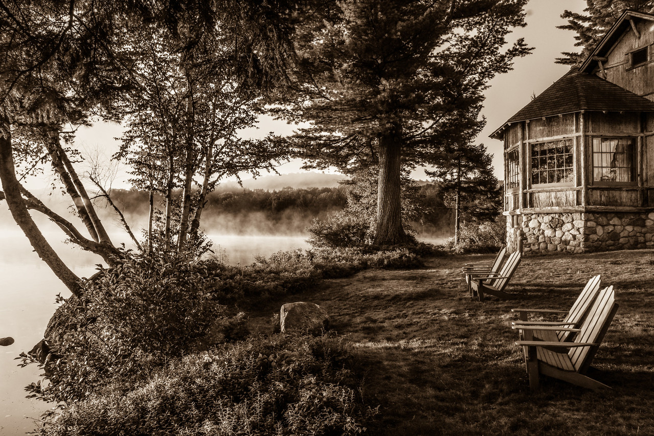 Peaceful Morning, Sagamore Lake