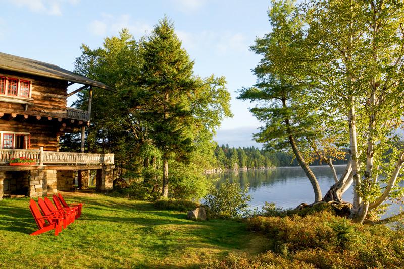Early Morning, Sagamore Lake