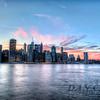 NY Skyline Pink