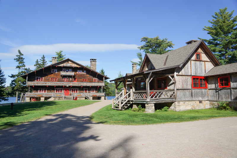 George's Camp and Main Lodge
