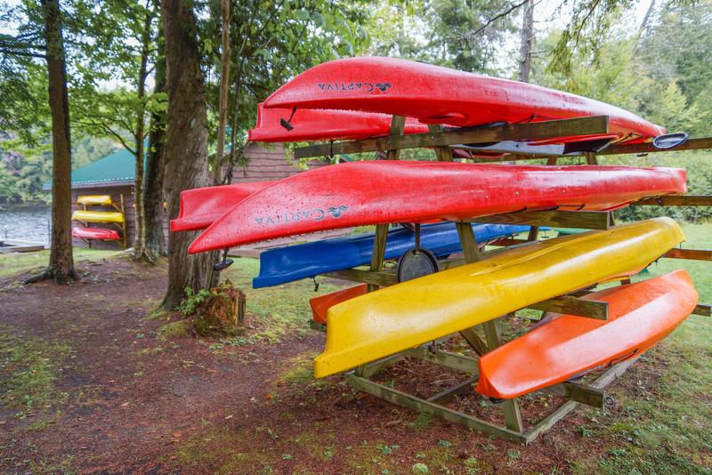 Kayaks, Camp Pine Knot