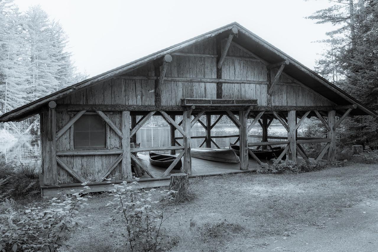 Boathouse, Camp Uncas