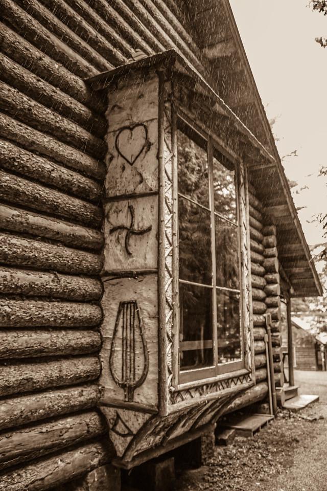 Window, Camp Pine Knot