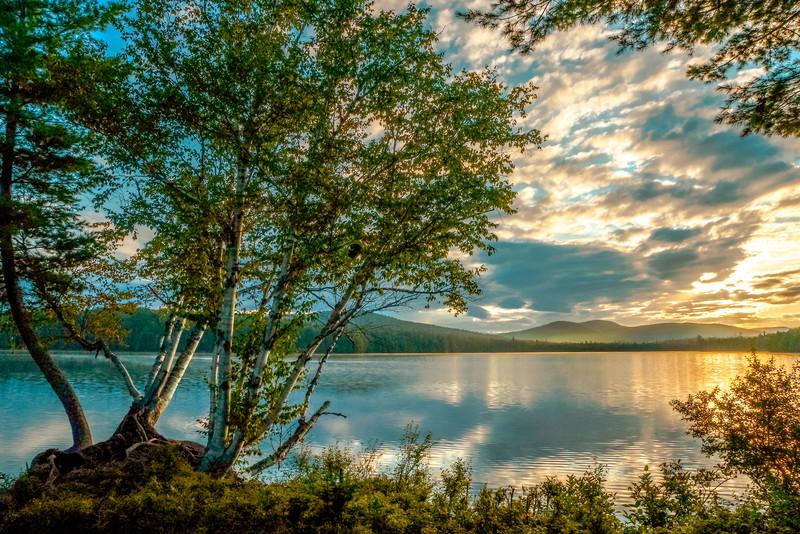 Sunrise Sagamore Lake