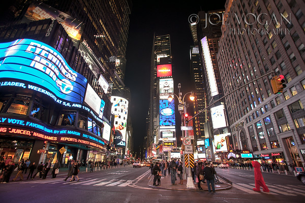 Times Square intersection, Manhattan, New York City