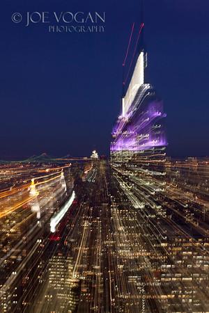 View of Manhattan from Rockefeller Center, Manhattan, New York City