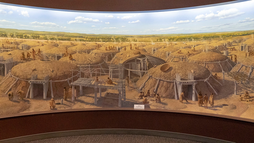 North Dakota Heritage Museum - Double Ditch Cyclorama