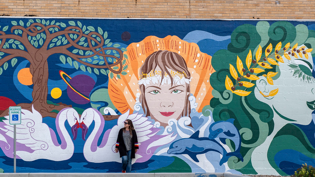 Street art in Bismarck North Dakota - What to do in North Dakota