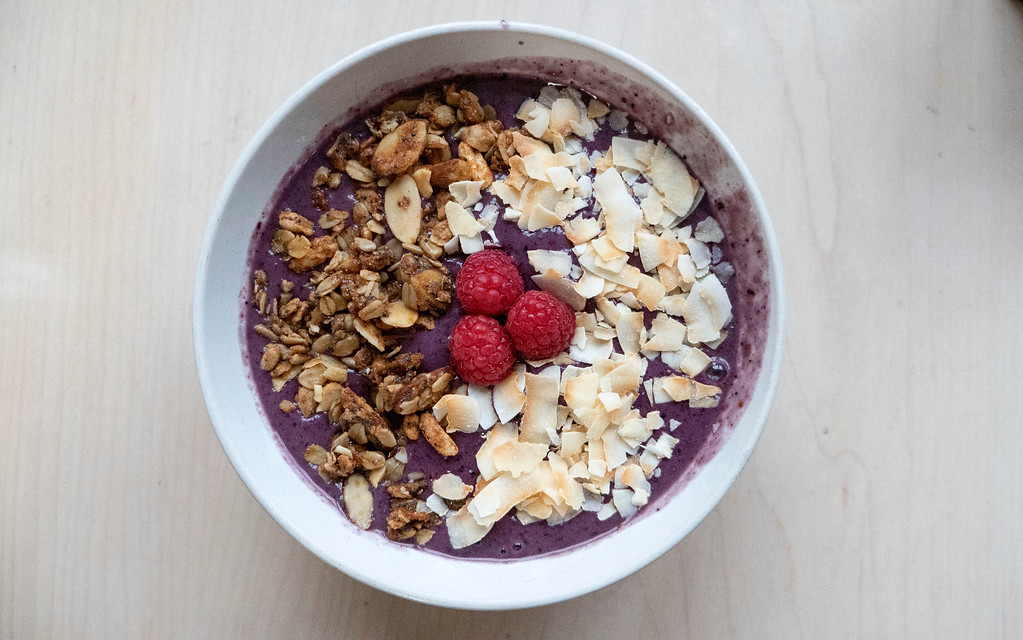 Smoothie bowl from Terra Nomad in Bismarck North Dakota - Where to eat in North Dakota - Breakfast and brunch