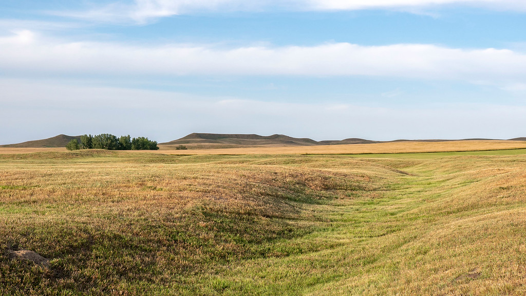 Double Ditch State Historic Site - Bismarck, North Dakota - Places to see in North Dakota