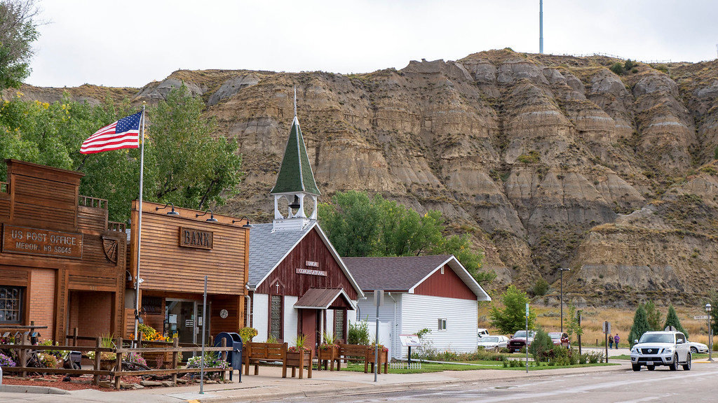 Medora North Dakota - Wild west town - North Dakota road trip - Things to do in North Dakota