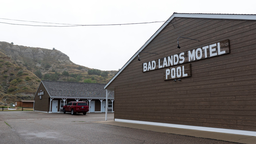 Badlands Motel in Medora - North Dakota road trip - Hotel and place to stay