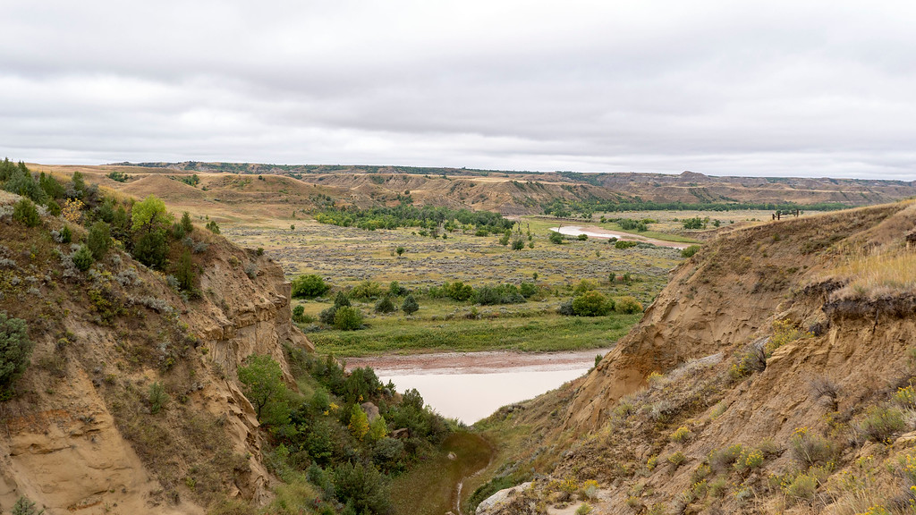 Wind Canyon Trail at Theodore Roosevelt National Park South Unit - North Dakota Road Trip