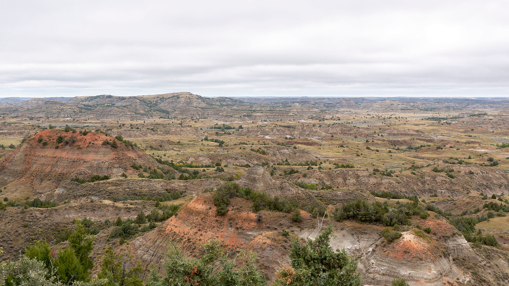 Painted Canyon - Theodore Roosevelt National Park - North Dakota road trip