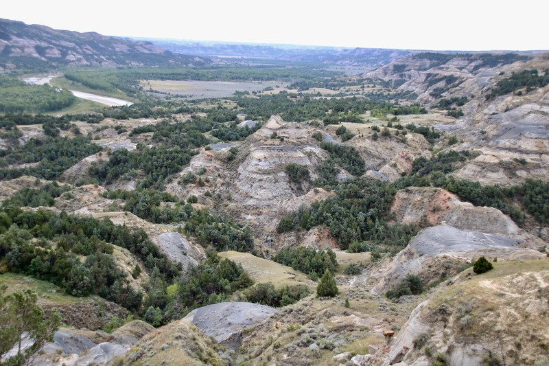 Oxbow Overlook - Theodore Roosevelt National Park - North Unit