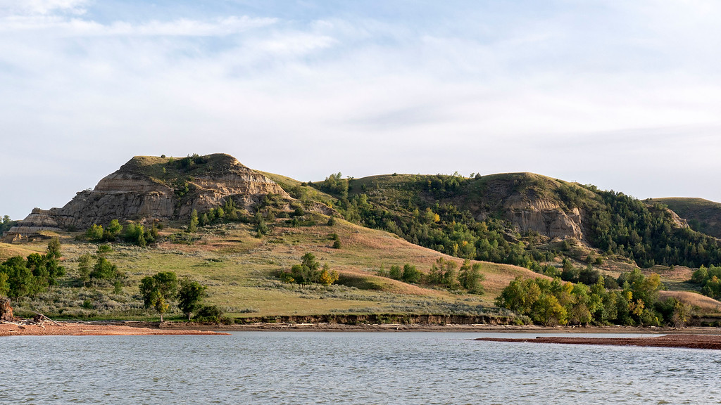 Watford City from Lake Sakakawea North Dakota - North Dakota road trip