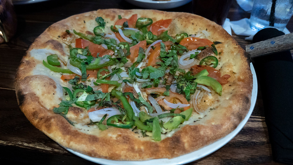Pizza at Williston Brewing Company - Vegan options in Williston North Dakota