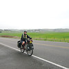 Riding through the spring rain, on our way to the Sonoma Coast State Park