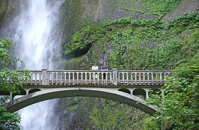 Multnoma Falls Bridge