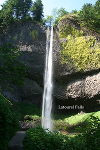 008 - Latourel Falls, Columbia River Gorge
