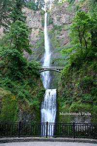 009 - Multnomah Falls, Columbia River Gorge