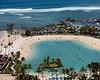 Duke-Kahanamoku-Lagoon,-Hilton-Hawaiian-Village,-Waikiki,-Hawaii