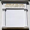Kirtland Temple inscription