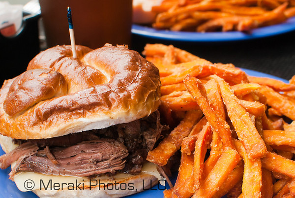 Photo of pot roast sandwich at Tip Top