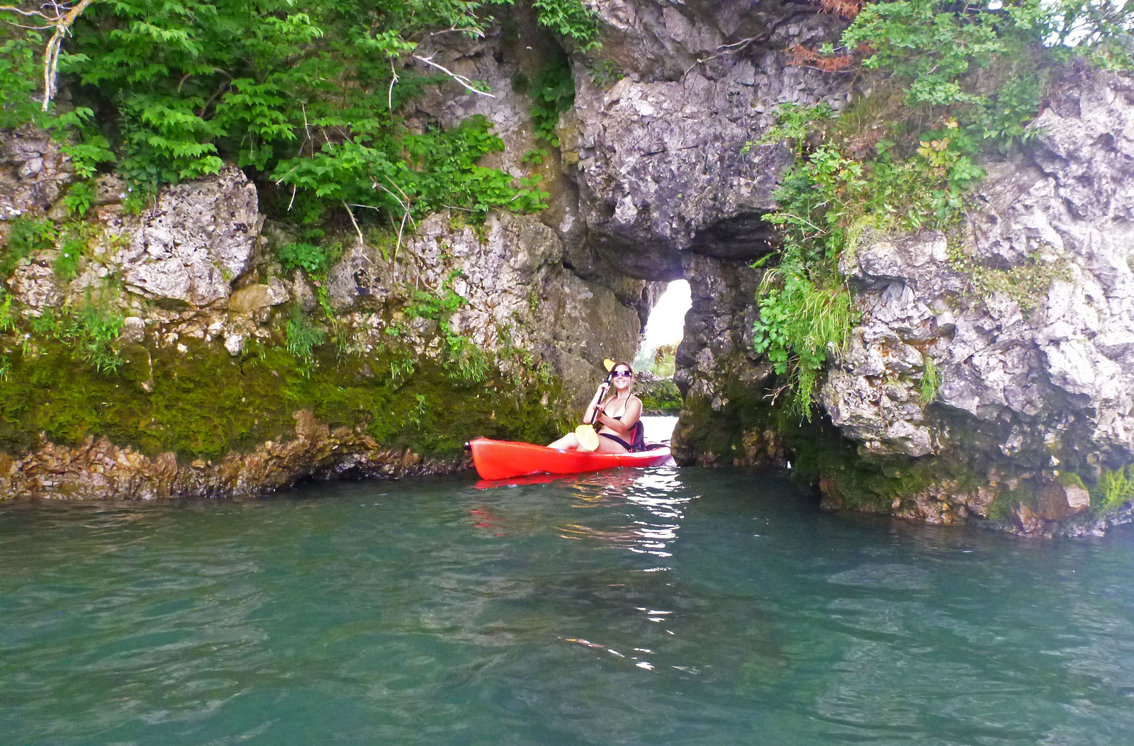 Kayaking to Gibraltar Island - Put in Bay, Ohio