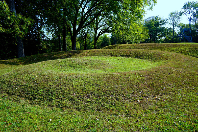 Coiled Tail of Serpent Mound