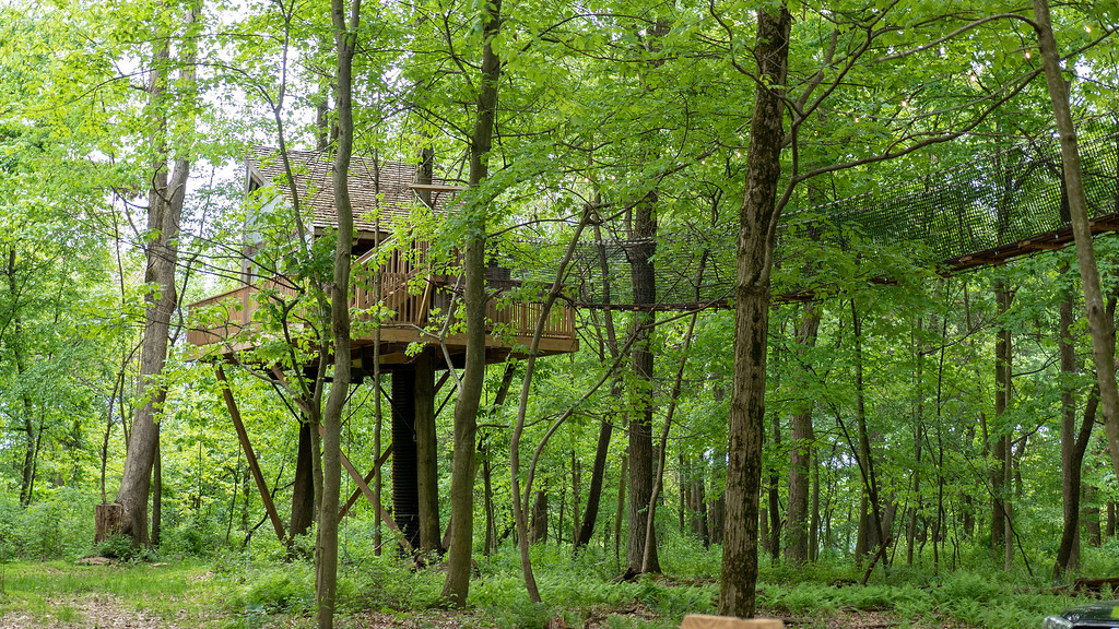 Treehouses in Ohio at The Mohicans