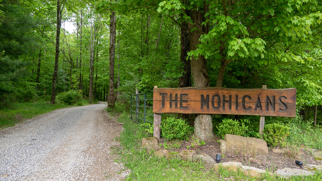 The Mohicans treehouses in Ohio