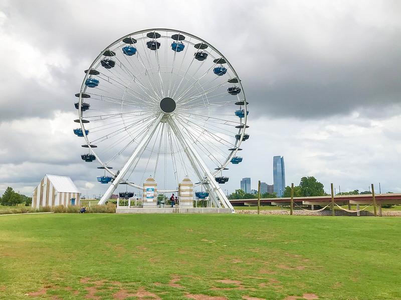santa monica ferris wheel oklahoma city