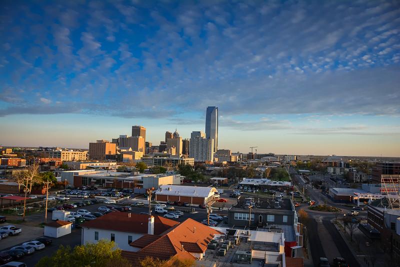 o-bar views across oklahoma city