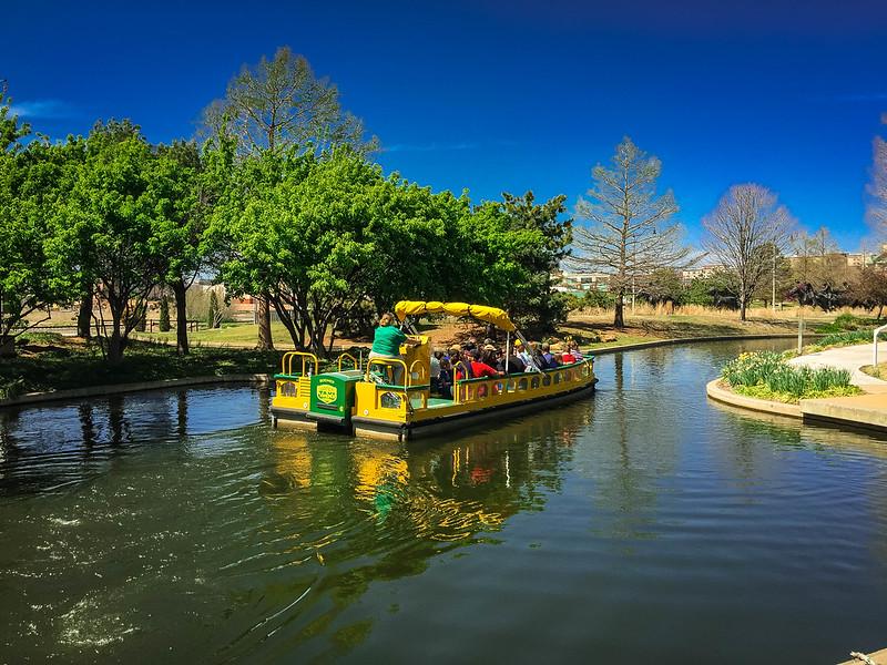 bricktown water taxi oklahoma city