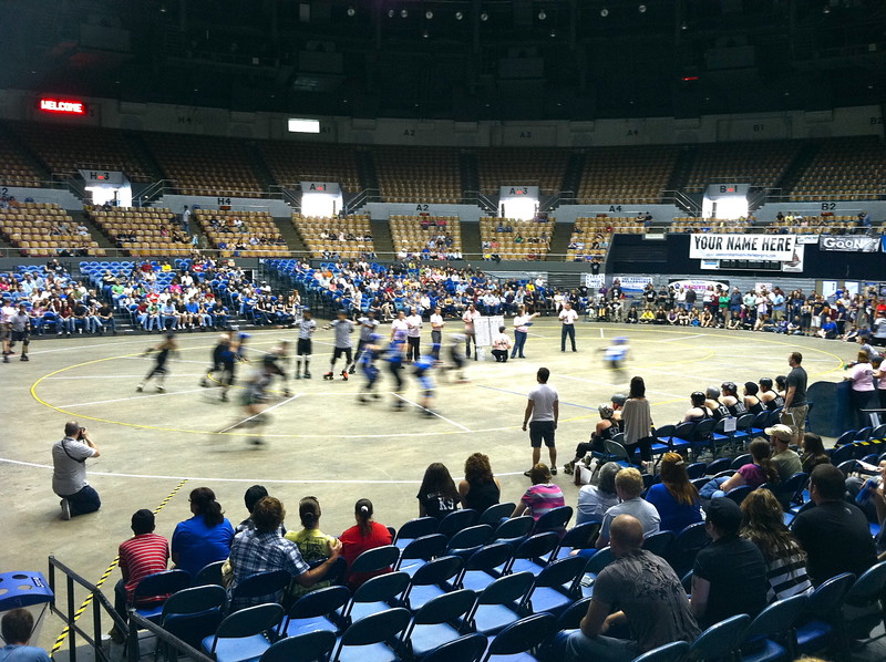 Nashville Rollergirls game